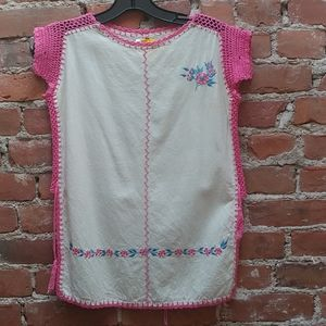 Vintage Embroidered Tunic Top